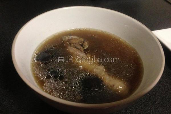 香菇鸡汤的做法