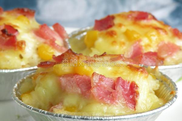 焗烤玉米马铃薯塔