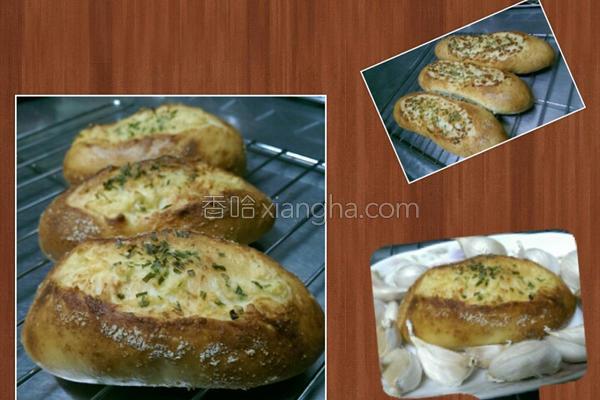 起司香蒜面包的做法