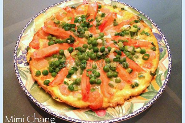 海鲜蛋饼的做法