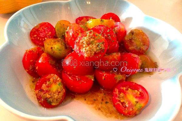 桂花糖渍小番茄的做法