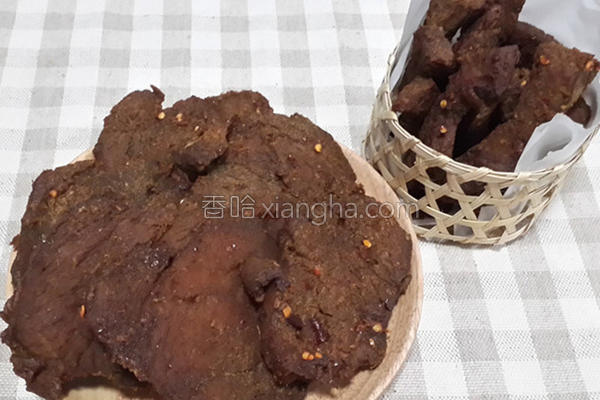 咖哩沙茶牛肉干的做法