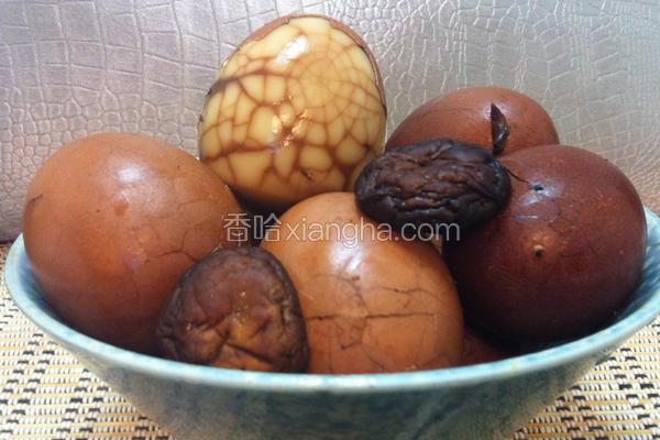 香菇茶叶蛋