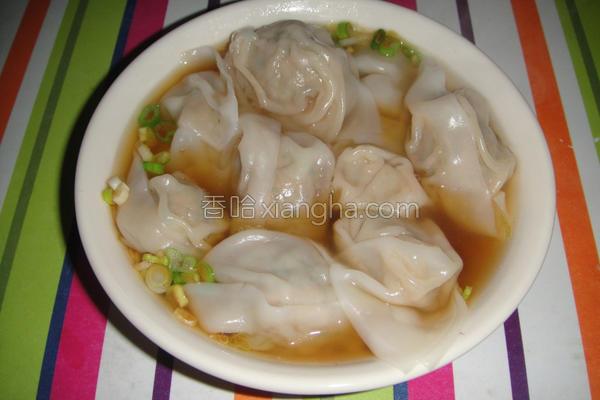 上海菜肉馄饨的做法
