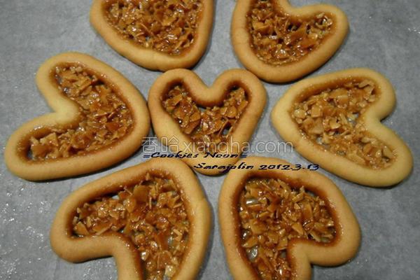 麦芽杏仁饼干的做法