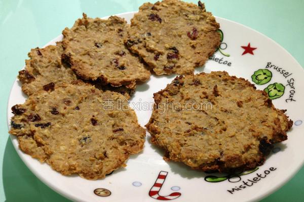 燕麦烤软饼干的做法