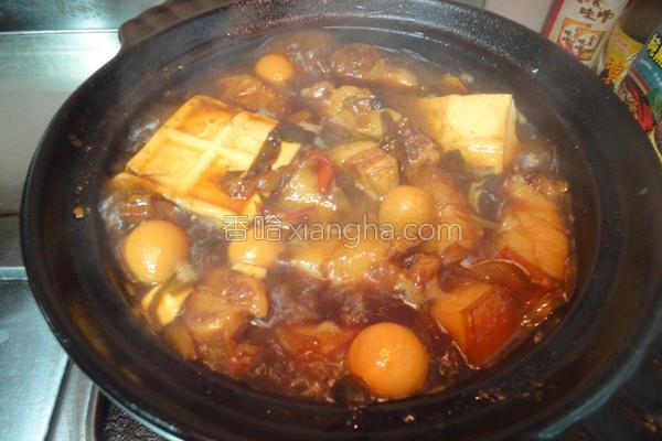 卤一锅肉的做法