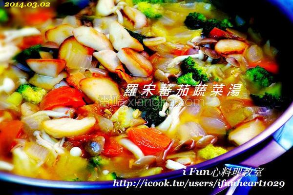 罗宋番茄蔬菜汤的做法