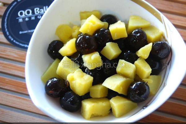 黑Q地瓜甜点的做法