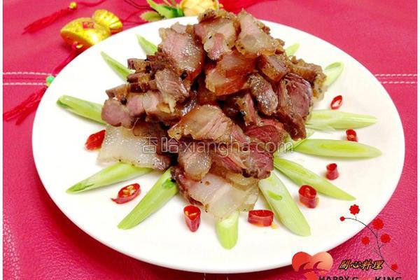 自制腌燻腊肉的做法
