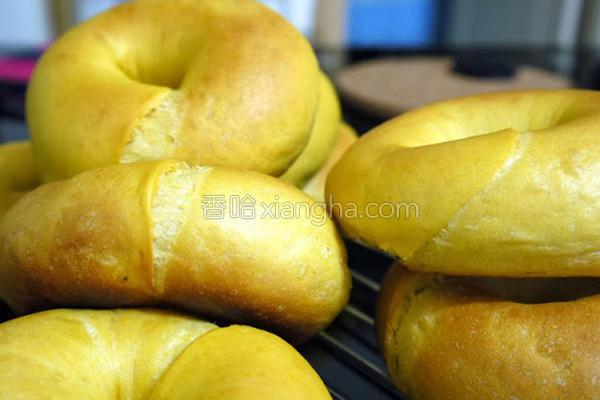 南瓜bagel的做法