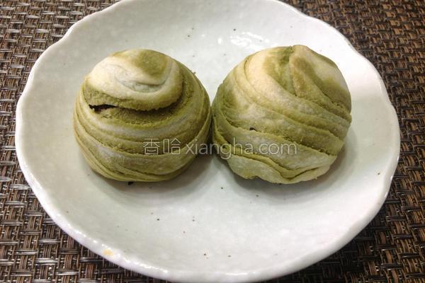 抹茶核桃酥的做法