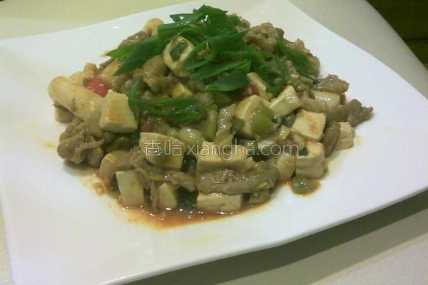 麻婆豆腐年糕的做法