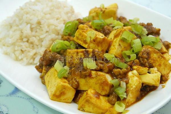 咖哩麻婆豆腐的做法