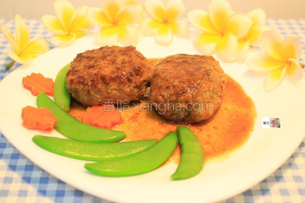 低热量牛肉汉堡排的做法