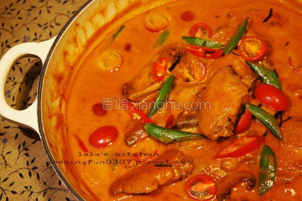 泰式红咖哩鸡翅的做法