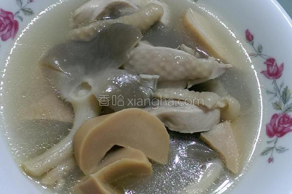 秀珍鲍鱼清鸡汤的做法