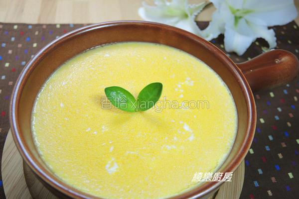 金瓜蒸蛋的做法