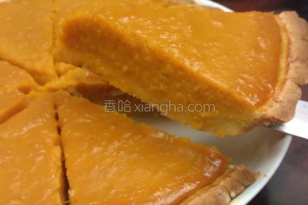 肉桂南瓜甜派的做法