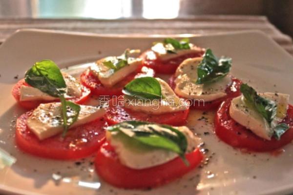 夏日清爽意式沙拉的做法