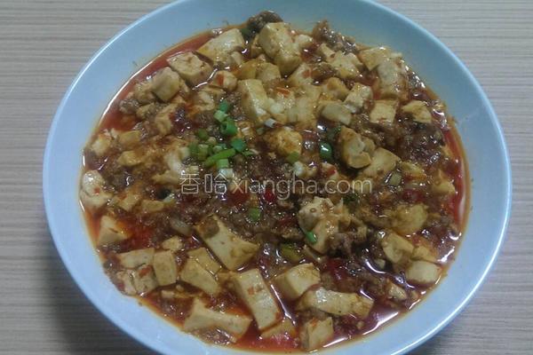 麻婆豆腐篇的做法