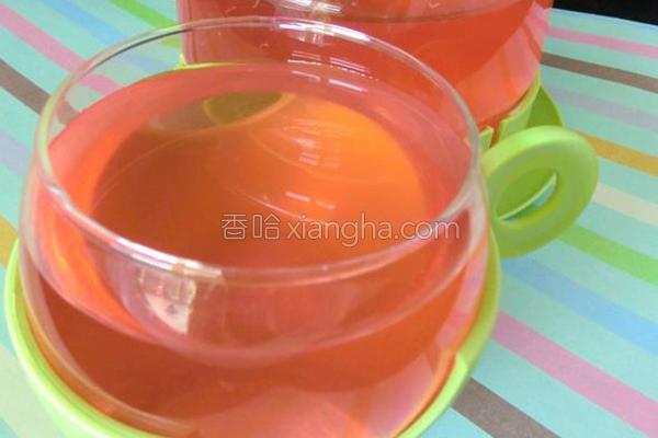 紫苏茶的做法