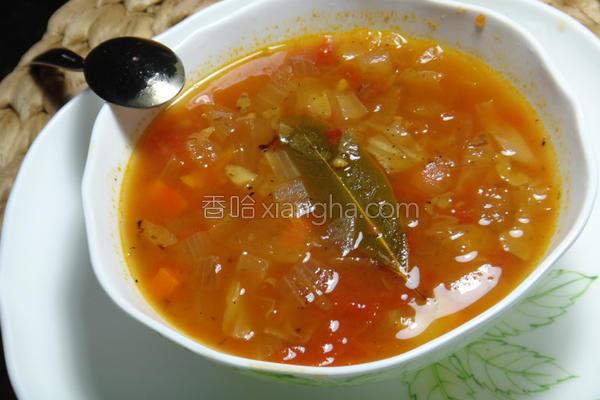 意式洋葱汤的做法