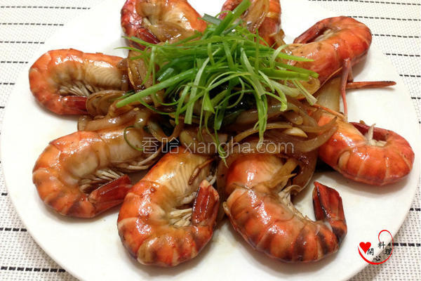 酱烧虾的做法
