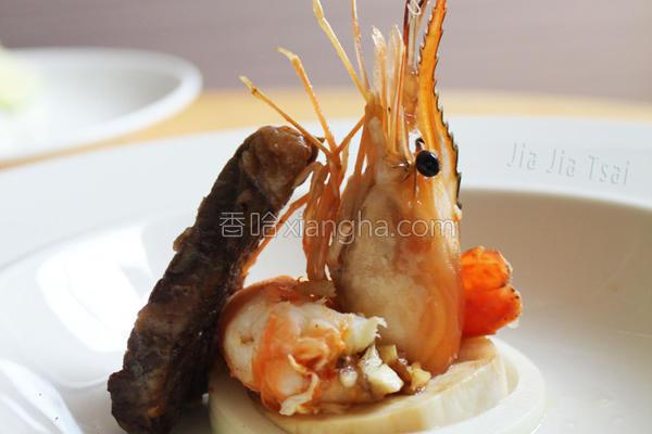 鲜虾&牛的做法