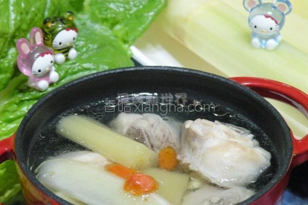 甘蔗炖鸡汤的做法