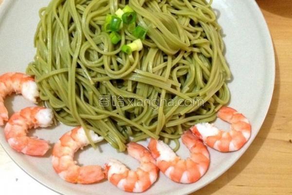 日式鲜虾凉面的做法