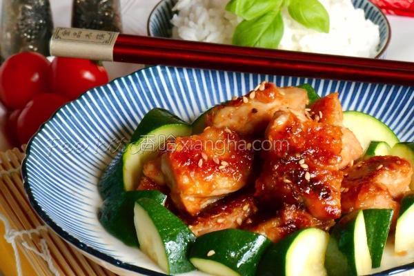 下饭蜂蜜味噌鸡肉的做法