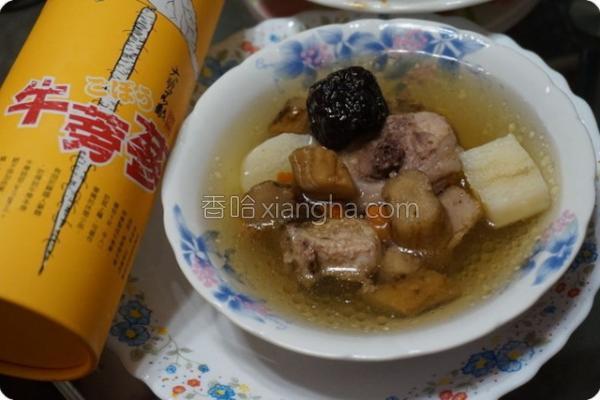 食谱牛蒡参炖鸡汤的做法