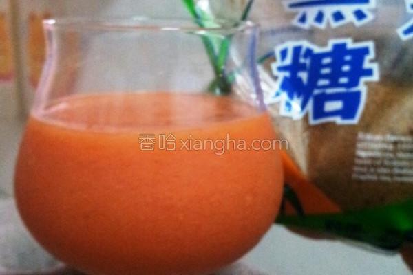 蜜香木瓜汁的做法