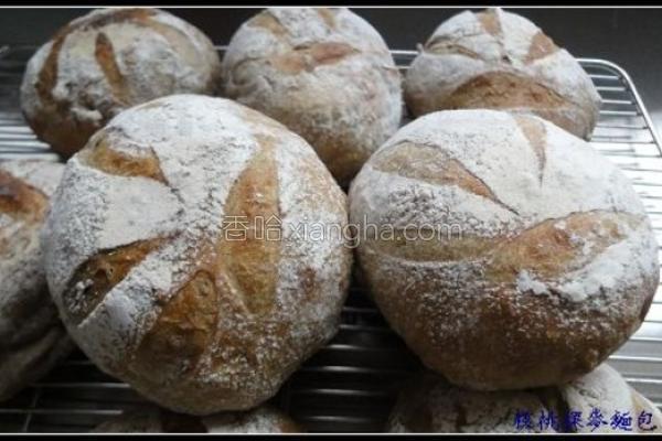 裸麦核桃面包的做法