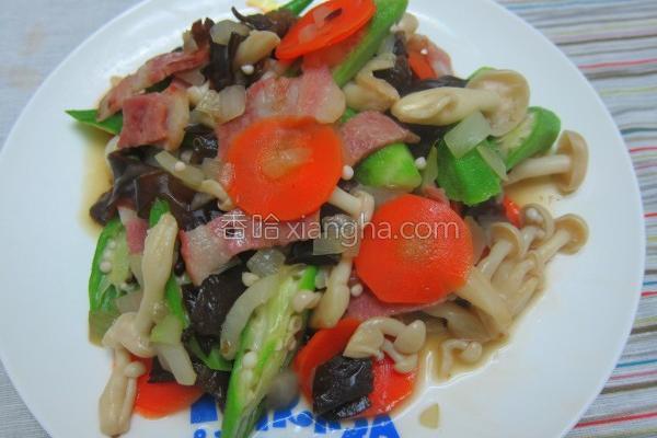 青青菜菜炒一炒的做法
