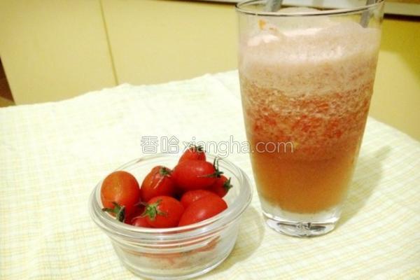 新鲜健康小番茄汁的做法