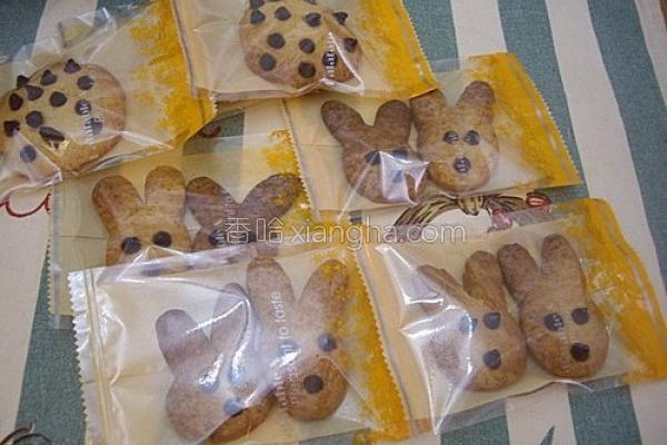 巧克力兔子饼干的做法