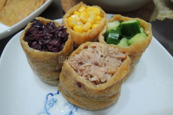 黑米养生豆皮寿司的做法