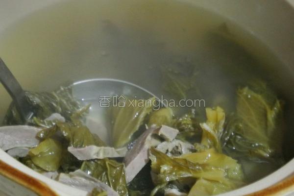 酸菜猪心汤的做法