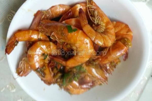 炸炒鲜虾的做法