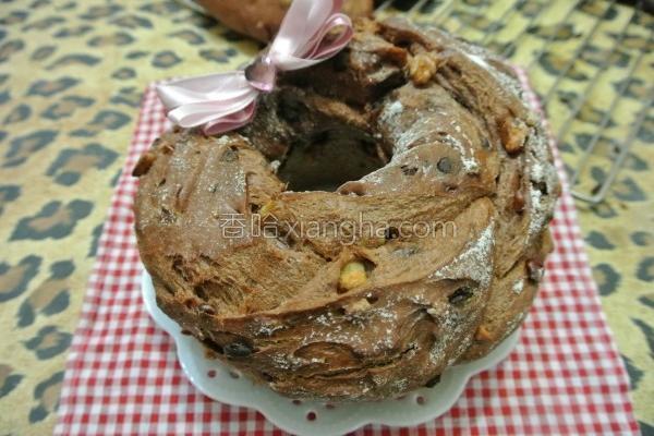 面粉大圈圈面包的做法