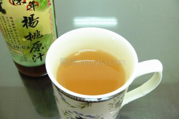 杨桃原汁的做法