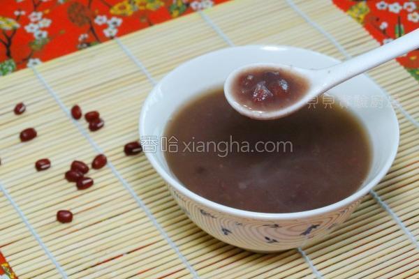 陈皮红豆汤的做法