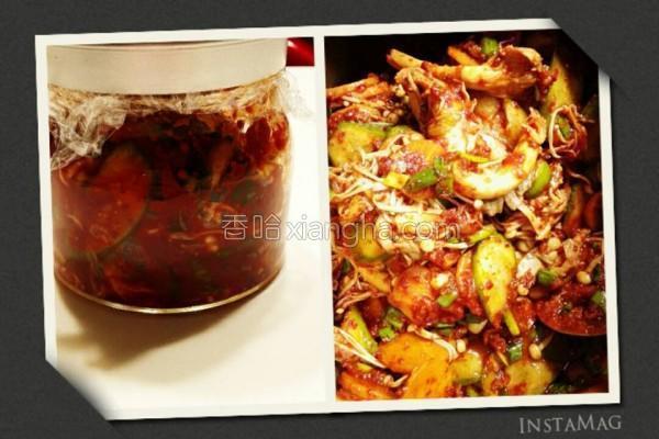 韩式辣味菇菇泡菜的做法