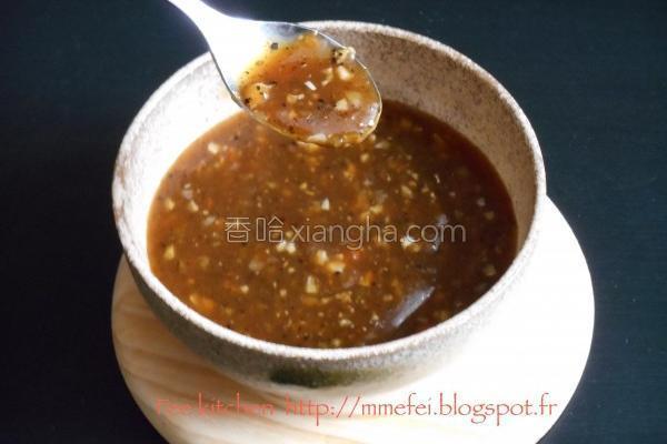 黑胡椒酱的做法