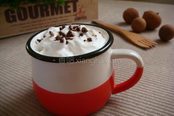 黑糖榛果咖啡的做法