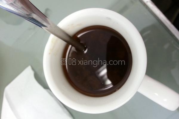 梅泥绿茶的做法