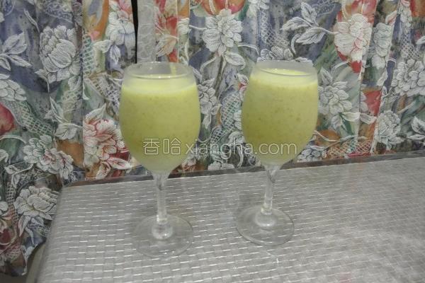 奇异柚子冰沙的做法