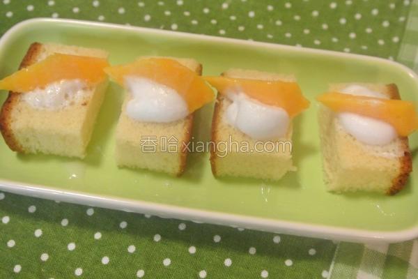 芒果蜂蜜蛋糕的做法